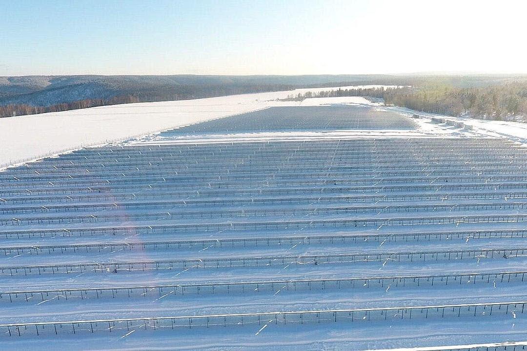 Новая солнечная электростанция в Башкортостане