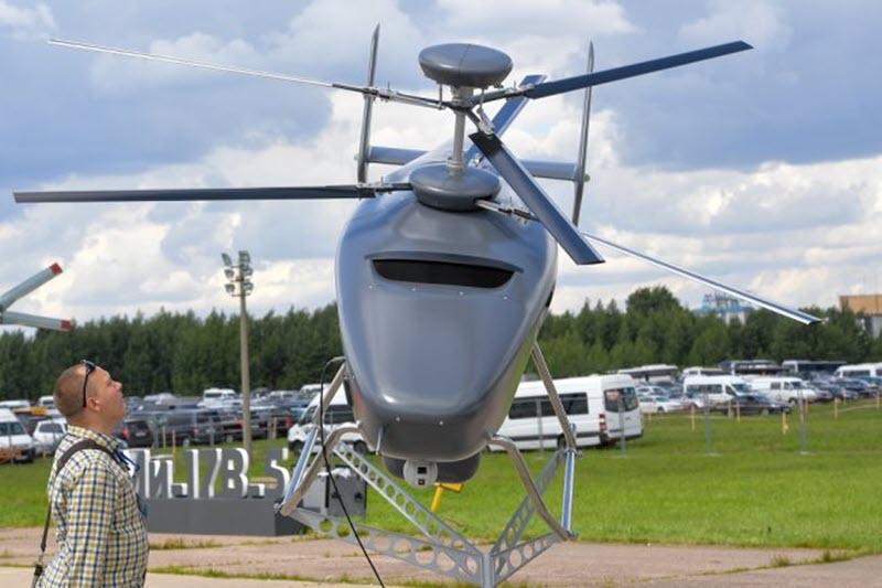 В России началась разработка беспилотного вертолета ДРЛО