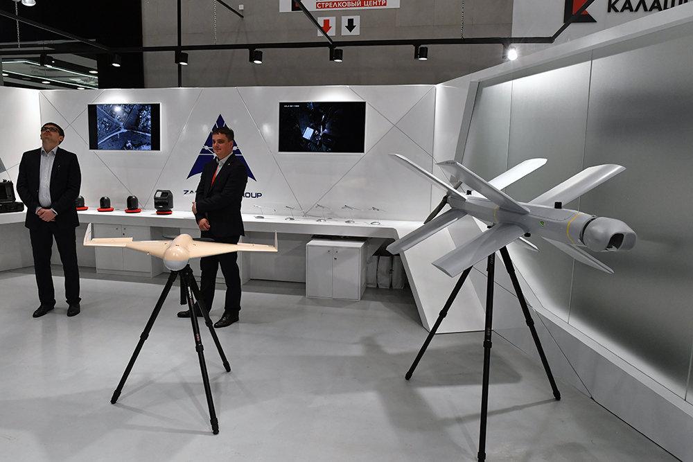 Россия испытала в Сирии дроны-камикадзе