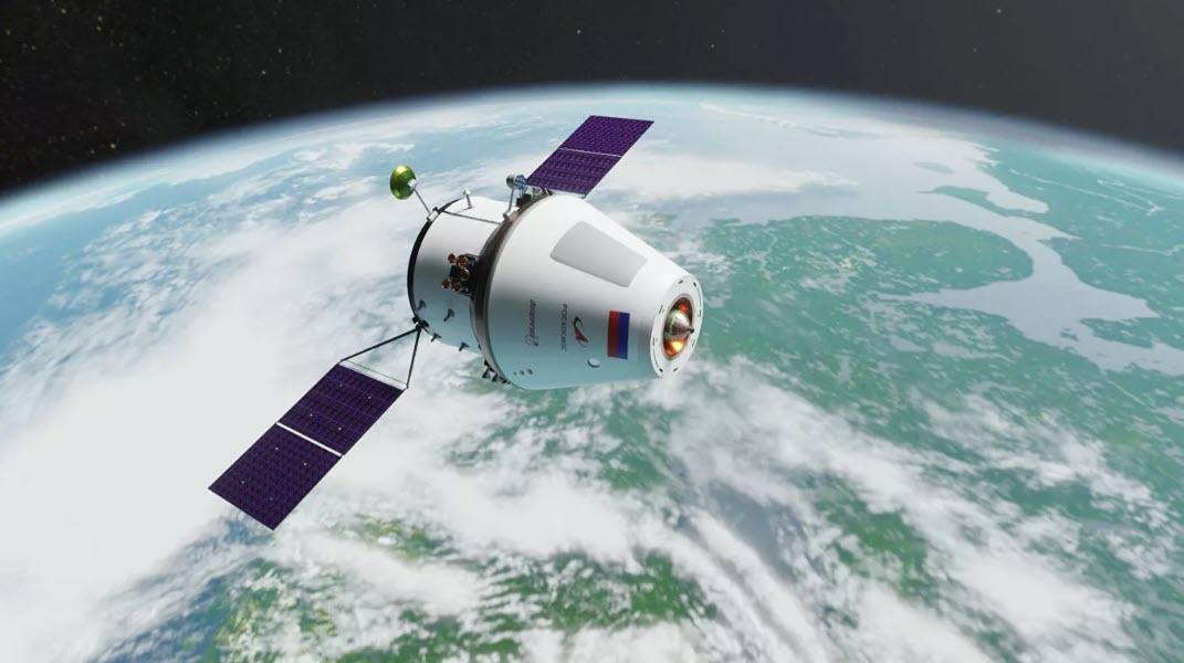 """Предприятие """"Роскосмоса"""" создаст корабль """"Орленок"""" для полетов на Луну"""