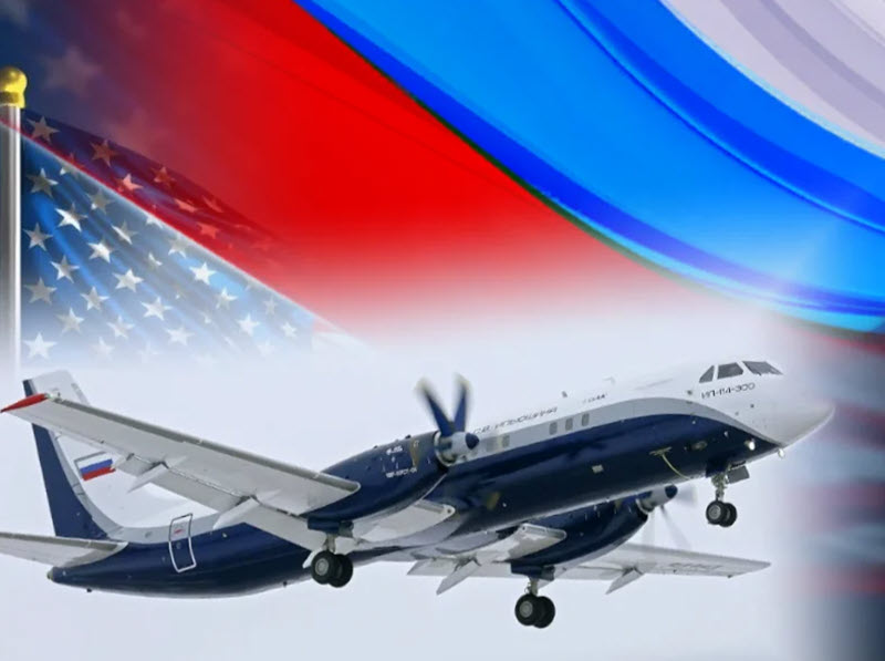 Реакция в США на первый полет в России пассажирского самолёта Ил-114-300